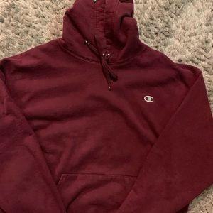 Vintage champion sweatshirt burgundy
